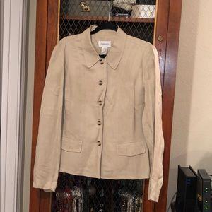 Chadwicks linen blazer